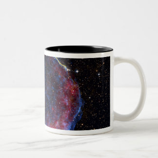 A composite image of the SN 1006 supernova remn Two-Tone Coffee Mug