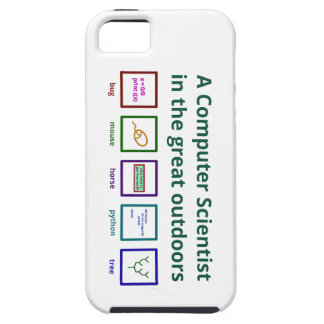 A computer scientist in the great outdoors iPhone SE/5/5s case