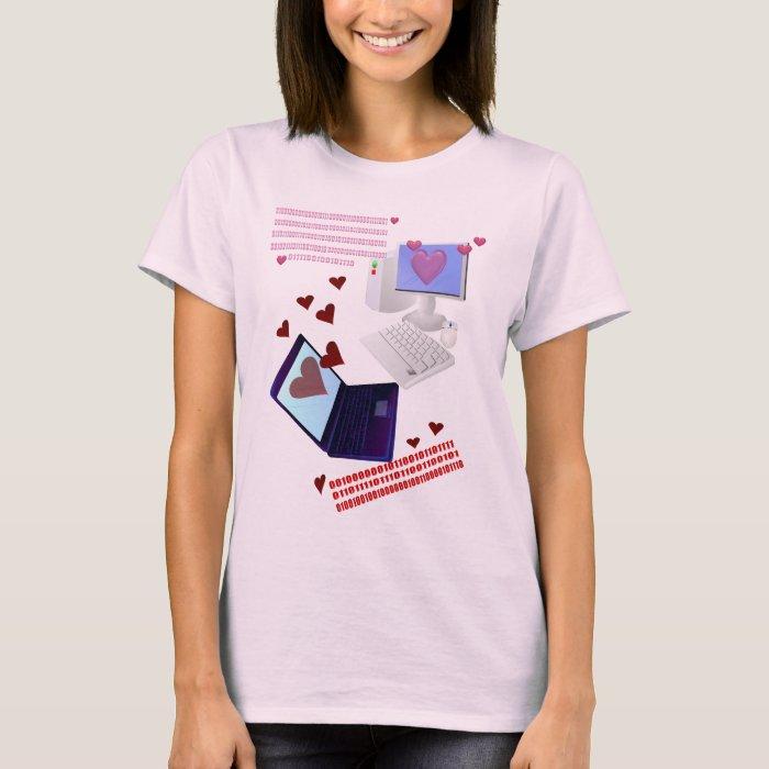 A Computer's Valentine T-Shirt