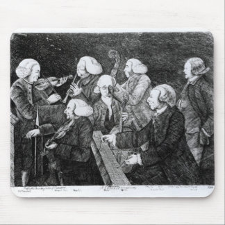 A Concert at Cambridge, 1770 Mouse Pad