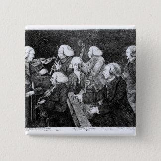 A Concert at Cambridge, 1770 Pinback Button