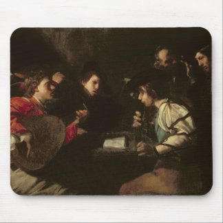 A Concert, c.1610-20 (oil on canvas) Mouse Pad