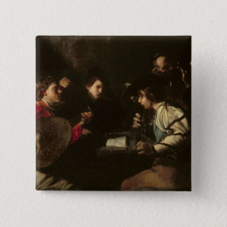 A Concert, c.1610-20 (oil on canvas) Pinback Button