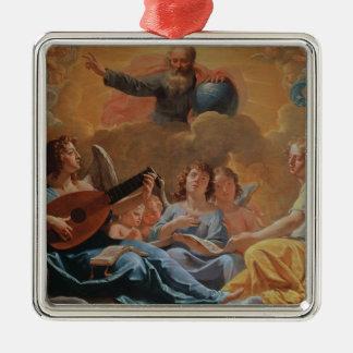 A Concert of Angels Metal Ornament