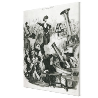 A Concert of Hector Berlioz Canvas Print