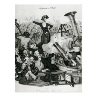A Concert of Hector Berlioz Postcard