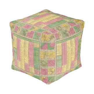 A Concise View of the Number, Resources Cube Pouf