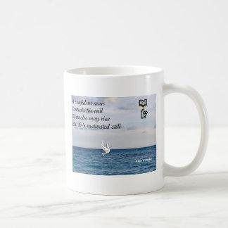 A confident man coffee mug