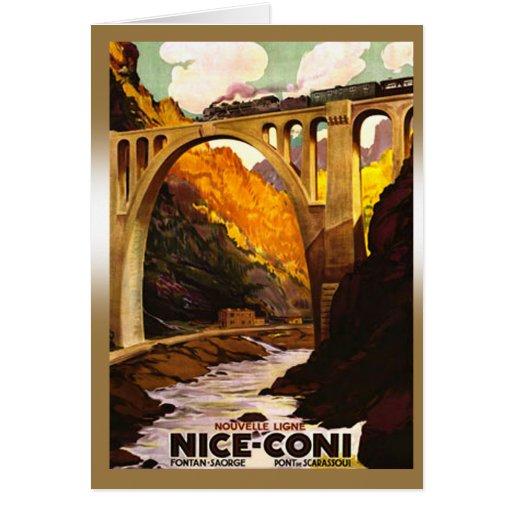 À Coni de Nouvelle Ligne de Nice vía Tende Tarjetón