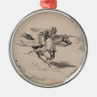 A Connecticut Yankee in King Arthur's Court Metal Ornament