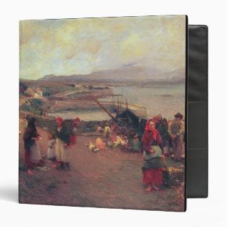 A Connemara Village - The Way To The Harbour, 1898 Binder