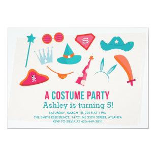 Costume Party Invitations Announcements Zazzle