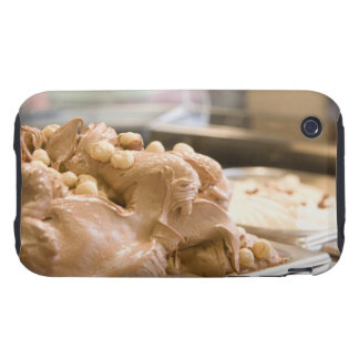A container full of hazelnut ice cream tough iPhone 3 cases