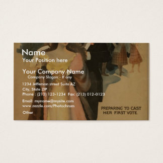 A Contented Woman Business Card