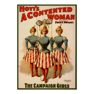 A Contented Woman Campaign Girls Posters
