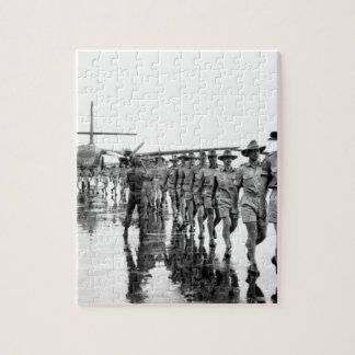 A contingent of the Royal Australian Air Force arr Jigsaw Puzzle
