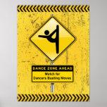 ¡A continuación-Reloj de la zona de la danza para  Impresiones