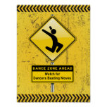 ¡A continuación-Reloj de la zona de la danza para  Poster