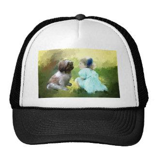 a conversation trucker hat