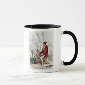 A Convict in the Toulon Penal Colony Mug