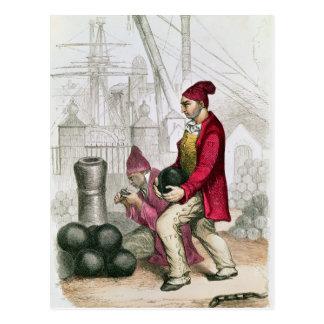 A Convict in the Toulon Penal Colony Postcard