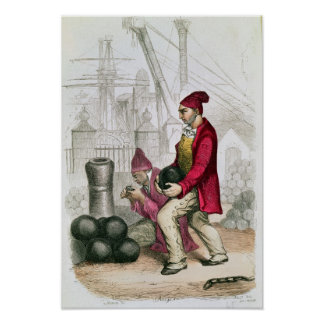 A Convict in the Toulon Penal Colony Poster