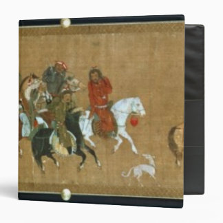 A convoy of Mongols, Chinese, 14th century Binder