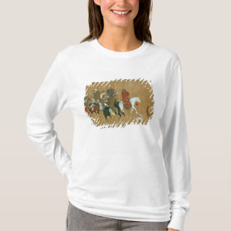 A convoy of Mongols, Chinese, 14th century T-Shirt