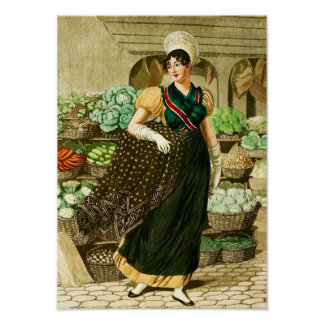A Cook at the Market Poster