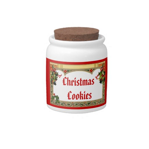 A Cookie Jar for your Christmas cookies. Candy Dish