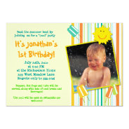 A 'Cool' Party! 5x7 Paper Invitation Card at Zazzle