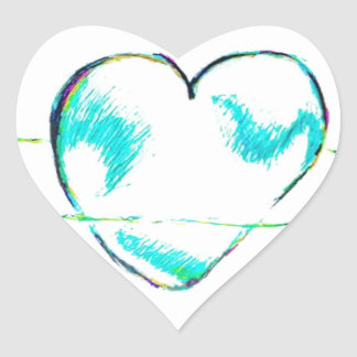 A Cooperation of Compassion by Luminosity Heart Sticker
