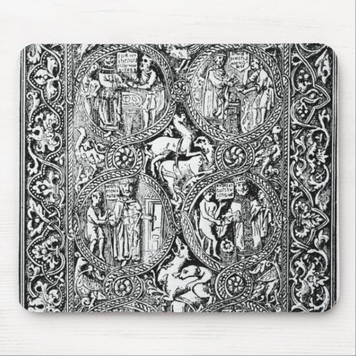 A copy of  ivory back Queen Melisende's Psalter Mouse Pad