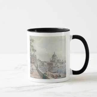 A copy of part of a drawing by Canaletto, of St. P Mug
