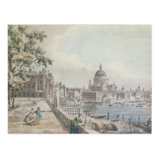 A copy of part of a drawing by Canaletto, of St. P Postcard