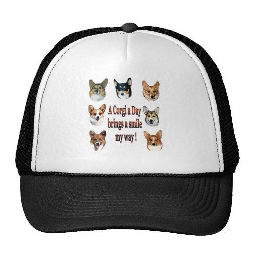 A Corgi a Day Brings a Smile my way! Trucker Hat