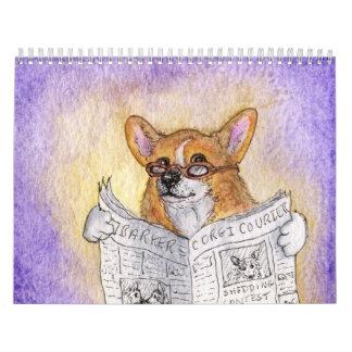 A Corgi Year by Susan Alison Calendar