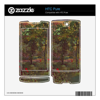 A corner in the garden of Bellevue by Manet Skins For The HTC Pure