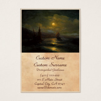A corner of Constantinople  Ivan Aivazovsky Business Card