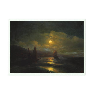 A corner of Constantinople  Ivan Aivazovsky Canvas Prints