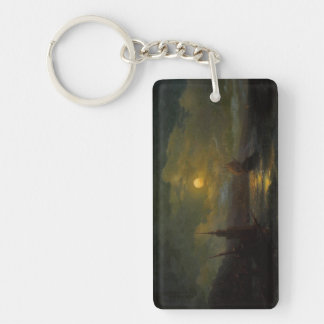 A corner of Constantinople  Ivan Aivazovsky Keychain