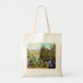 A Corner of the Garden at Montgeron Tote Bag