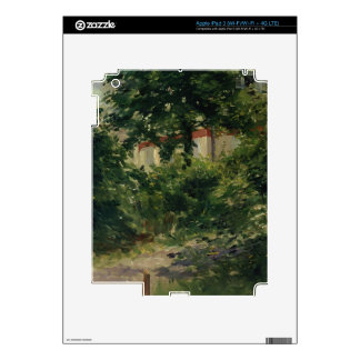 A Corner of the Garden in Rueil, 1882 Decals For iPad 3