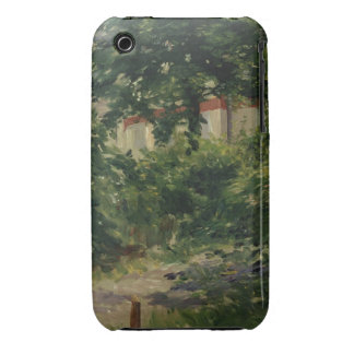 A Corner of the Garden in Rueil, 1882 iPhone 3 Covers