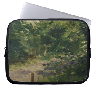 A Corner of the Garden in Rueil, 1882 Laptop Sleeves