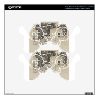 A Corner of the Haram by James Tissot PS3 Controller Skin