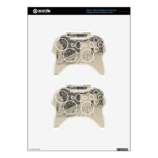 A Corner of the Haram by James Tissot Xbox 360 Controller Skin