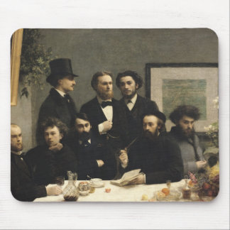 A Corner of the Table, 1872 Mousepads