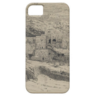 A Corner of the Village of Siloam by James Tissot iPhone SE/5/5s Case