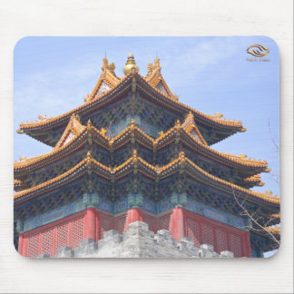 A Corner Tower of The Forbidden City Mouse Pad